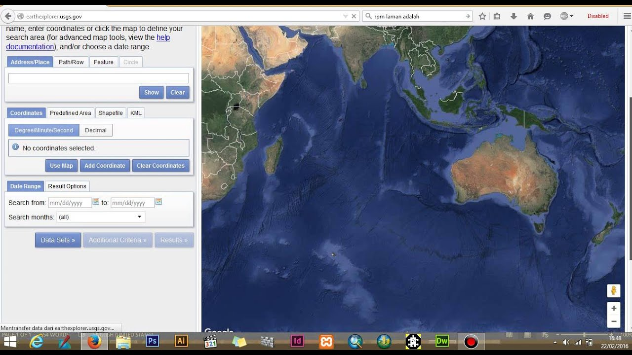 Download landsat 8 image satellite youtube download landsat 8 image satellite gumiabroncs Images