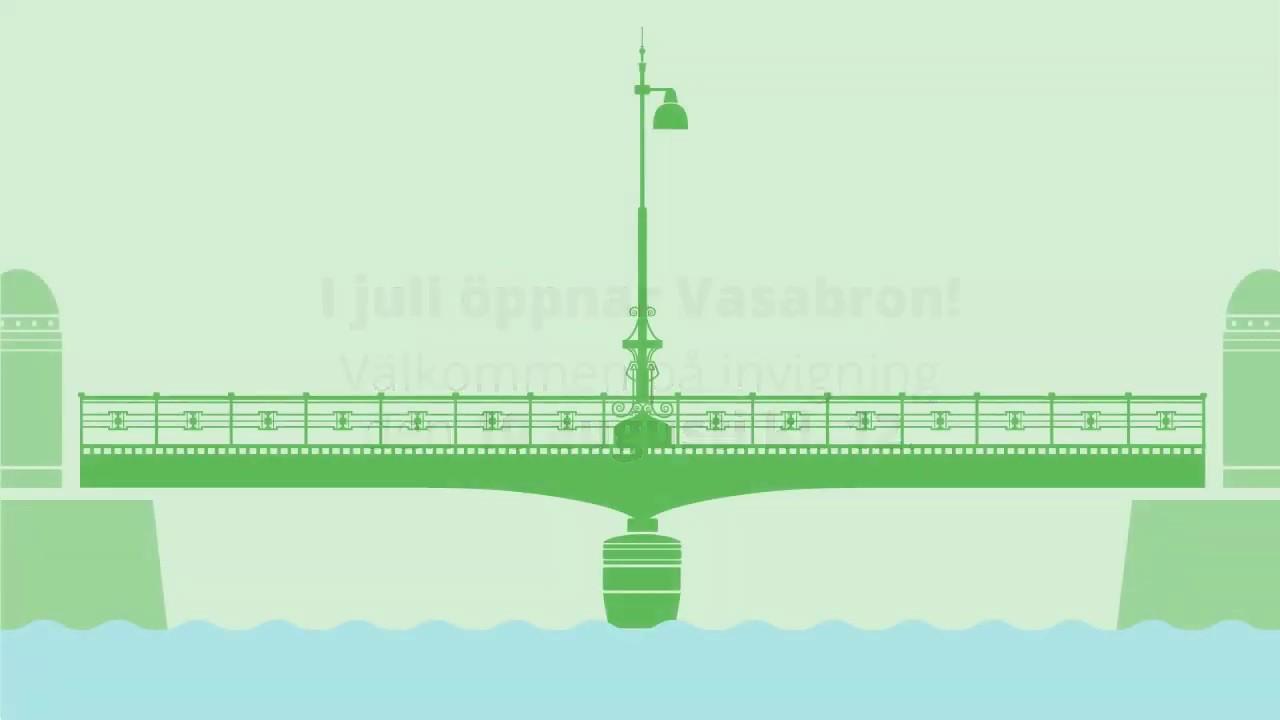 Kronprinsen återinviger Vasabron!