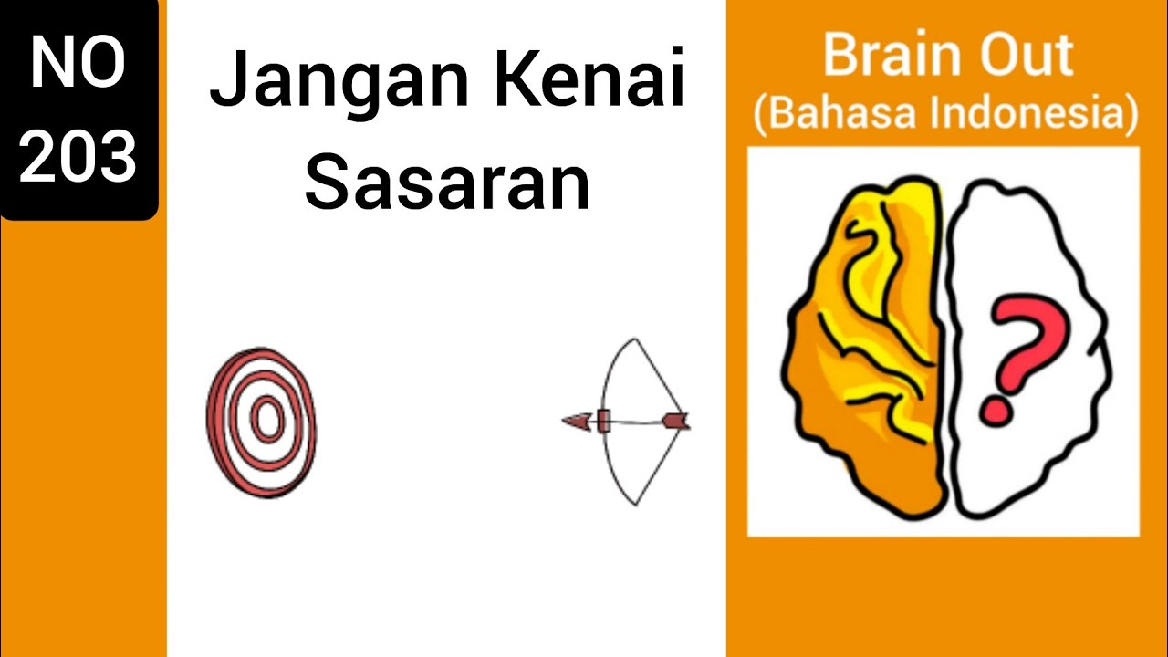 Brain Out Level 203: Jangan Kenai Sasaran - YouTube