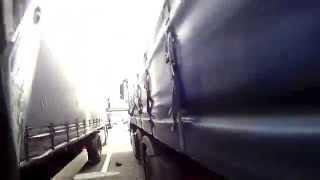 Motorbike Filling For A Truck Sandwich