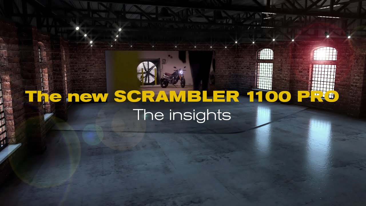 Scrambler 1100 PRO and 1100 Sport PRO, The Insights: Let's Make It Virtual!