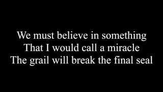 Miracle Machine - Blind Guardian - Lyric Video