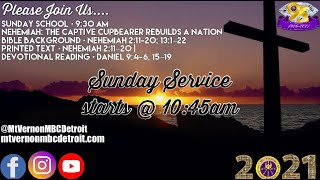 """Sunday Service - """"If You Want to Win then you got to get to know HIM"""" - 4/18/2021"""