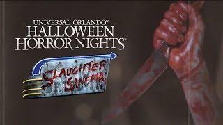Slaughter Sinema House Reveal | Halloween Horror Nights 2018