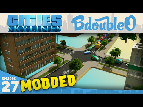 Cities Skylines Mods :: FLOATING CITY!? Part 27 [Cities Skylines w/ BdoubleO100]