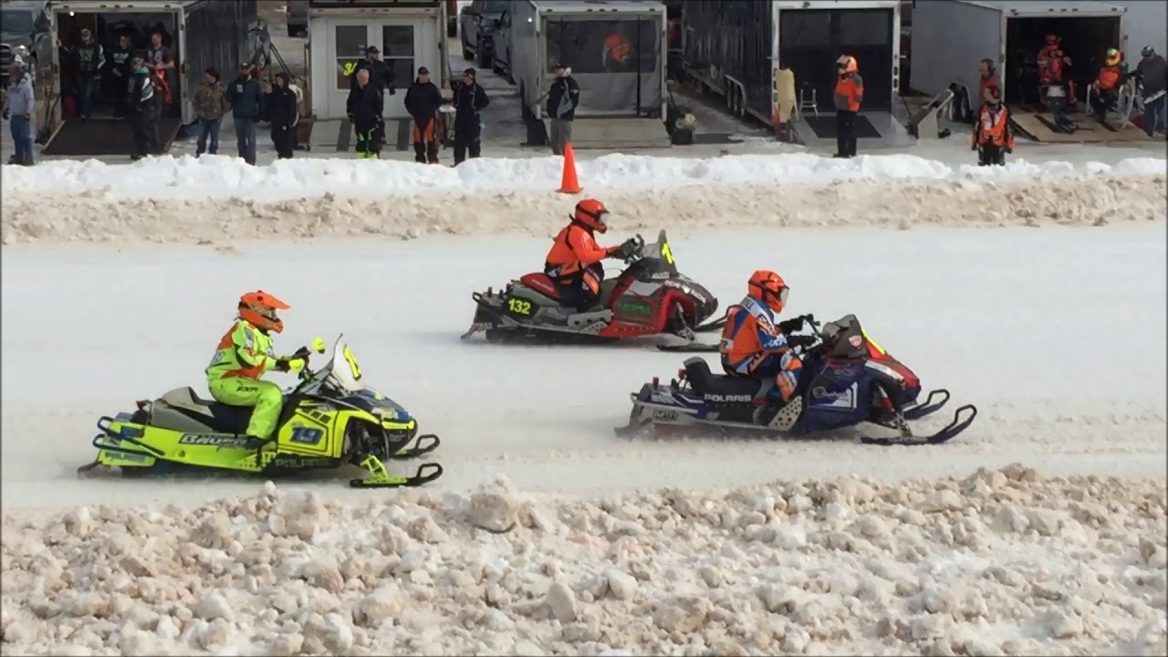snowmobile race vintage lincoln