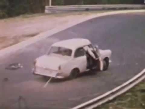 Nurburgring Nordschleife Crashes 1970 at...