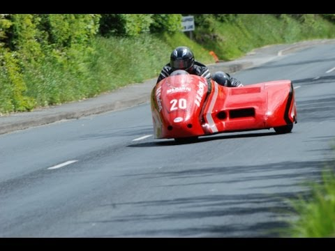 Scary close up sidecar - Isle of Man TT (HD)