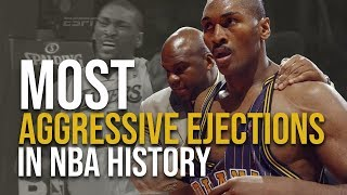 The Most Aggressive Ejections In NBA History