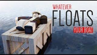 SURVİVAL YAŞAMAK !!! / Roblox Whatever Floats Your Boat / Roblox Gerçek Yaşam / Oyun Safı