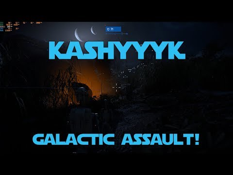 Star Wars Battlefront 2 Galactic Assault on Kashyyyk PC Gameplay - 1440p Ultra Settings