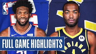 76ERS at PACERS | FULL GAME HIGHLIGHTS | August 1, 2020