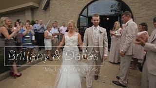 Brittany & Dallas - Wedding Film - Mackey Wedding Videos