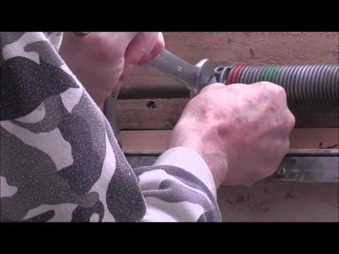Adjusting A Garage Door