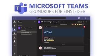Microsoft Teams (Grundkurs für Einsteiger) Deuтsch (2020)