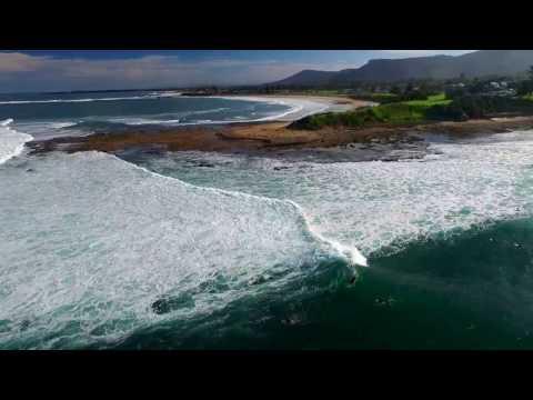 Surfing Sandon Point March 2017