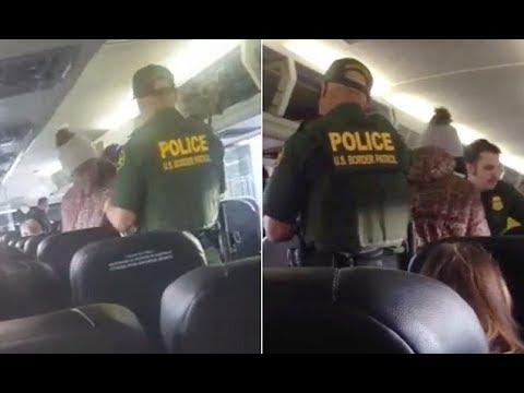 Border Patrol agents arrest woman on board a Greyhound bus