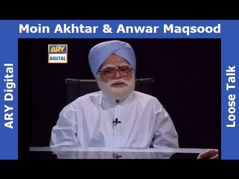 Loose Talk Episode 298 - Moin Akhter As Manmohan Singh - Hilarious
