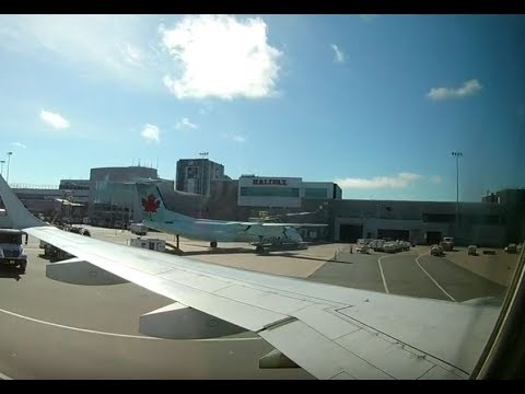 AIR CANADA Flight Toronto To Halifax Sep 2017