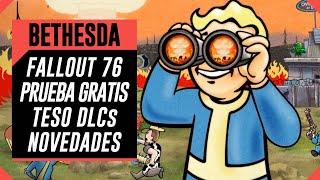 E3 BETHESDA - Fallout 76 Prueba gratis y NPCs, TESO DLCs y mas novedades