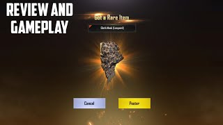 PUBG MOBILE REVIEW AND GAMEPLAY CLOTH MASK LEOPARD RARE ITEM