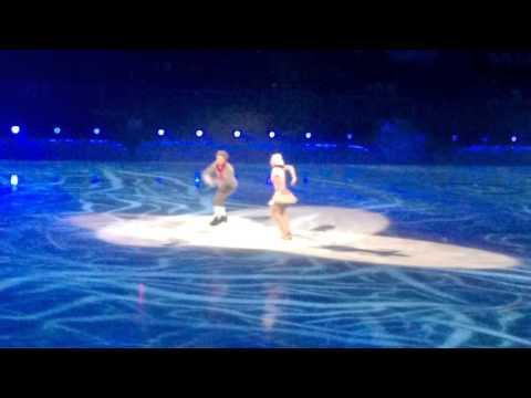 ледовое шоу снежный король 2 Слуцкая и Кай