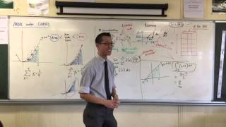 Area under Curves (4 of 4: Testing Riemann's Integral for areas under simpler relationships)