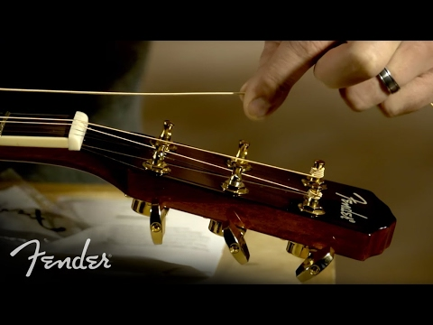 How to Change Your Acoustic Guitar Strings