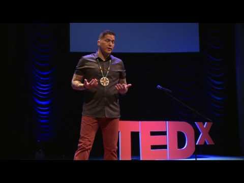 An Indigenous Journey To Leadership | Eddy Robinson | TEDxStMaryCSSchool