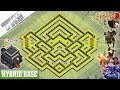 NEW TH9 Base 2019 with REPLAY   Town Hall 9 Farming/Hybrid Base - Clash of Clans