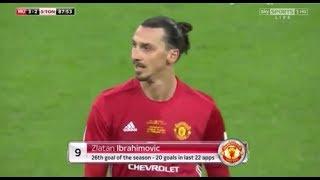 Zlatan Ibrahimović | Manchester United 3-2 Southampton | 2016-17 EFL Cup Final