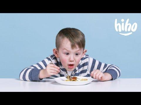 Американские Дети Пробуют Русскую Еду! - Как поздравить с Днем Рождения