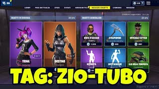 TODAY's FORTNITE SHOP 26 February: PARADOSSO, TRINA and DESTINO skins