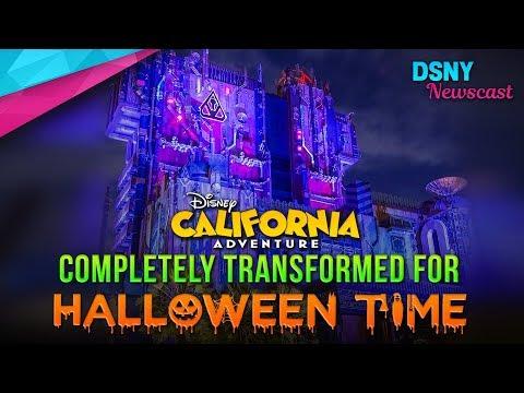 Halloween's Complete Transformation of Disney California Adventure - Disney News - 9/17/17