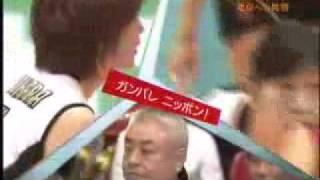 2007ワールドカップ バレーボール 女子 日本3-1韓国 (25-23,19-25,25...