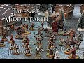 Tales of Middle Earth Ep.85 - Middle Earth SBG Battle Report - Halls of Thranduil Vs. Azog's Legion