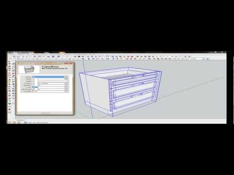 Manual de sketchup aplicado al dibujo de muebles for Manual para muebles de cocina