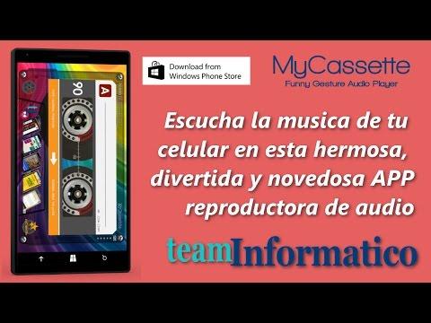 My Cassette app - musica en el celular - reproductor mp3 - vintage - retro - Cassette APP
