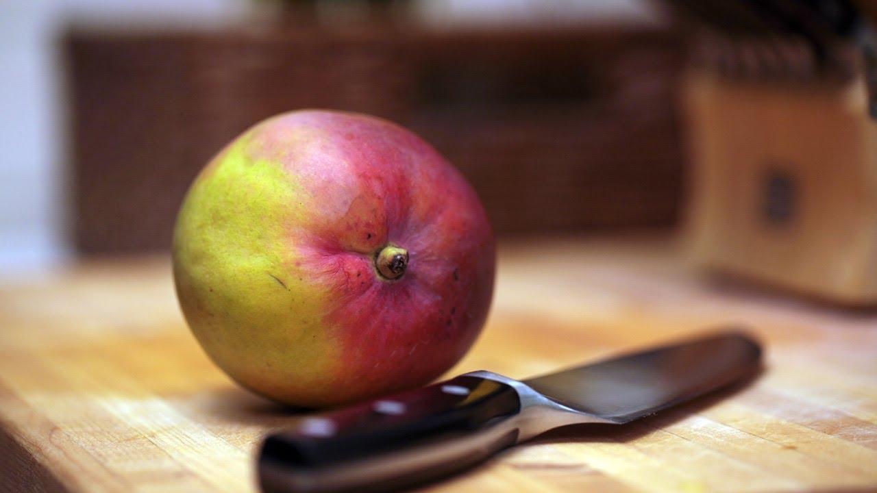 2 Ways To Cut A Mango  Kin Eats