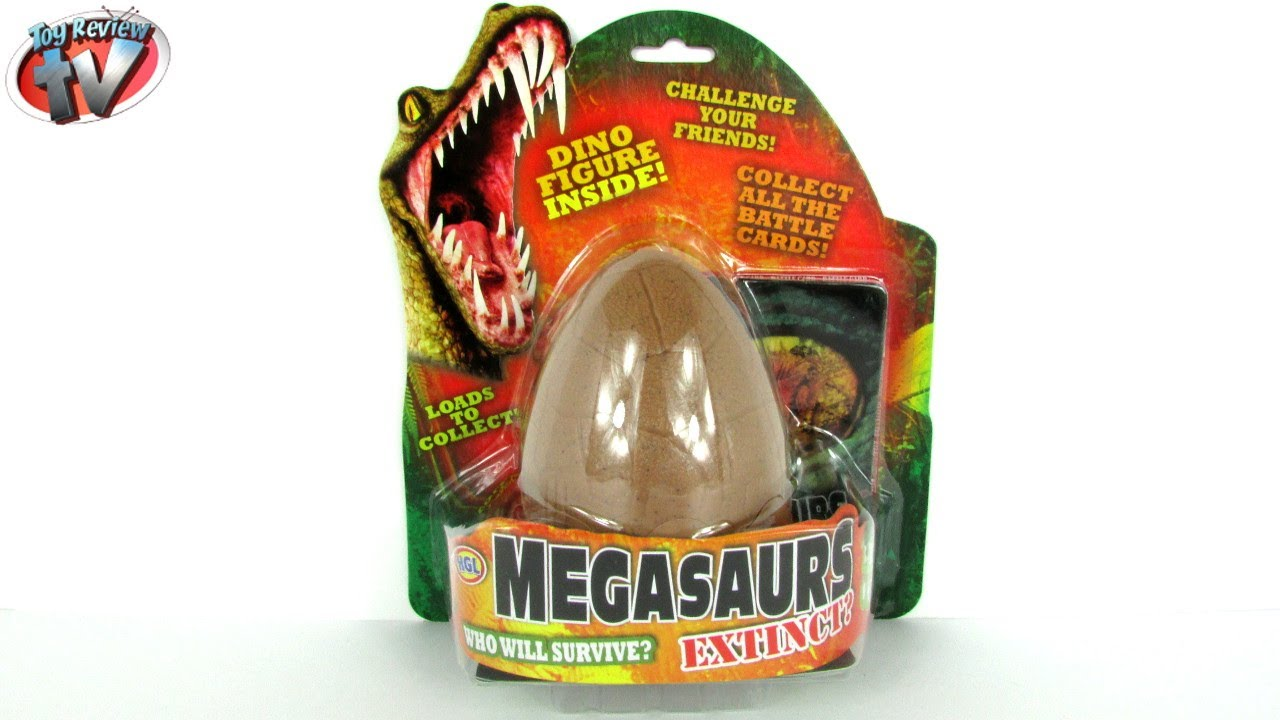 MEGASAURS SURPRISE DINOSAURS EGG Extinct Mystery Dinosaur Toy ...