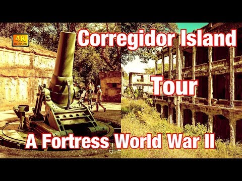 Corregidor Island, A Tour Of A Fortress During World War II, Philippines