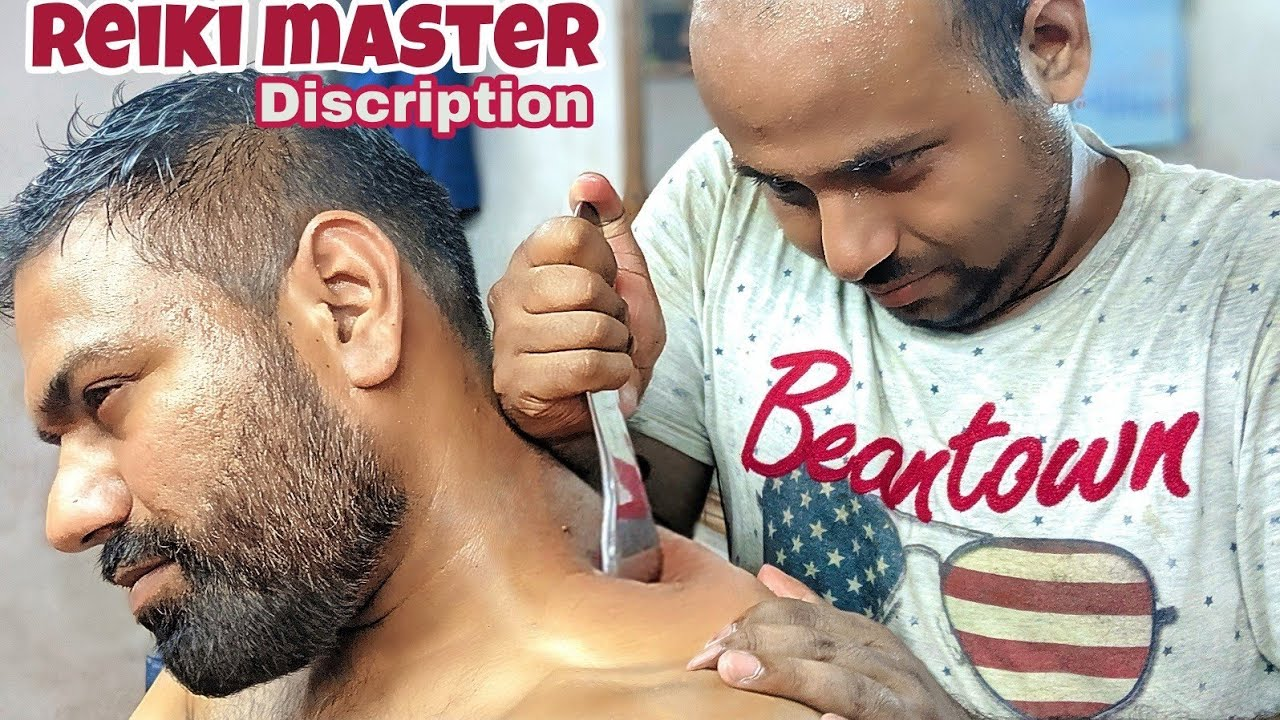 Chinese Guasha tool head massage therapy by Reiki master ( Discription) ASMR Relaxing C.C available