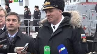 Сюжет – «Серпухов» и «Зеленый дол» прибыли в Крым для прохождения службы на Черноморском флоте