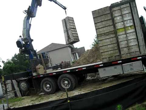 concrete forms part one. - YouTube