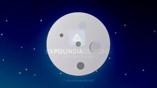 How to create  moon in CorelDraw - Trailer