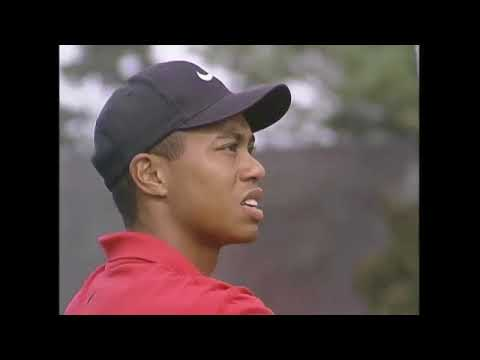 97 Masters Final Round Every Tiger Woods Shot + Presentation Ceremony
