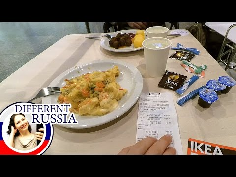 Ikea Moscow: 5$ Dinner for Two & Easy Way to Save Money on Food.  What I Hate in Ikea