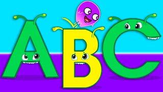 Apprenez l'alphabet en anglais avec Groovy Le Martien - Dessins animés pour enfants