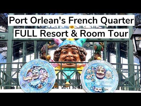 Disney's Port Orleans French Quarter FULL Resort & Room Tour