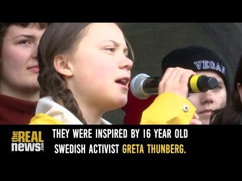 Kids Around the World Cut Class for Climate Justice